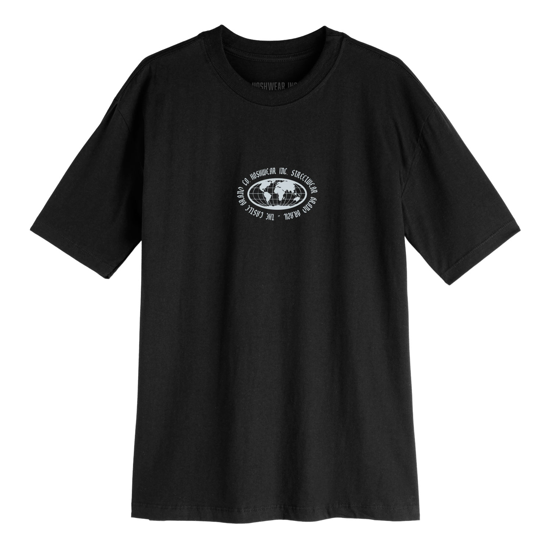 Camiseta Masculina Hoshwear Hand Skull Preta