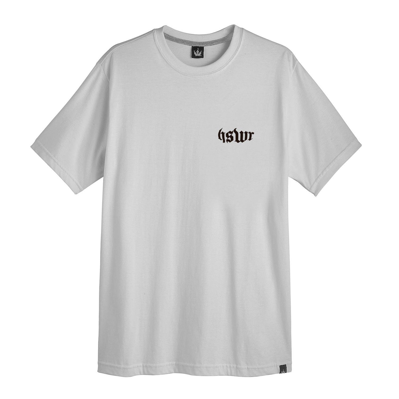 Camiseta Masculina Hoshwear High Quality Cinza