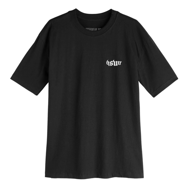 Camiseta Masculina Hoshwear HSWR Geo Preta