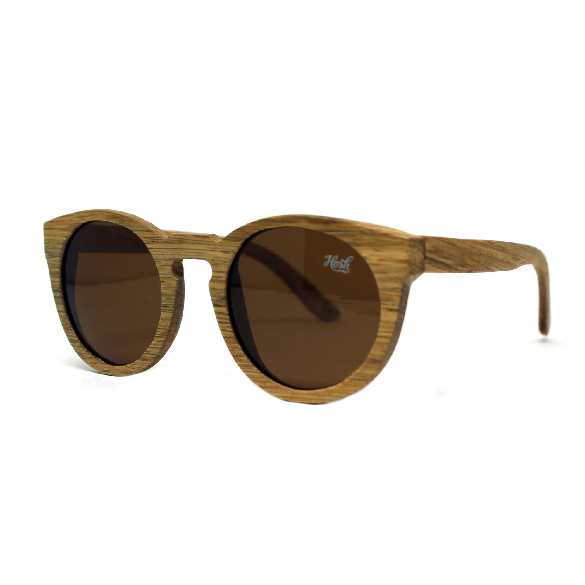 Óculos  De Sol Hoshwear Wood Kitty