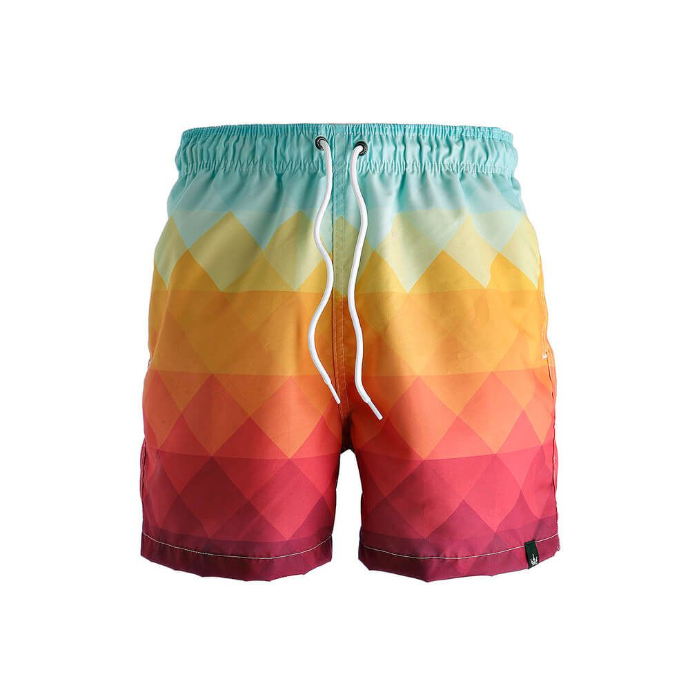 Short Estampado Masculino Hoshwear New Summer Colorido