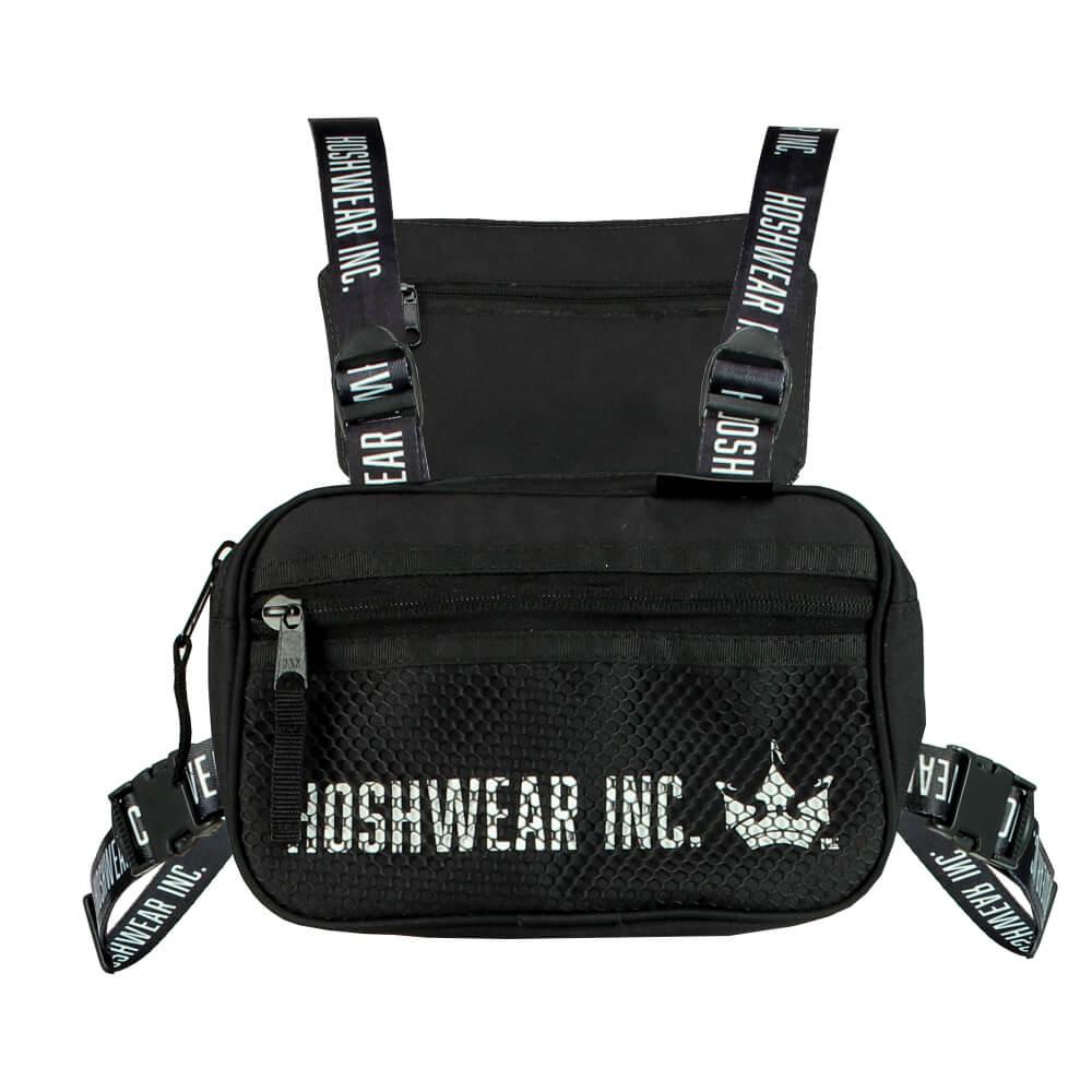 Shoulder Bag Chest Hoshwear Preta Pequena