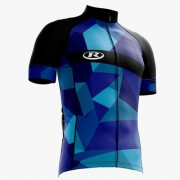 CAMISA REFACTOR ABSTRACT AZUL