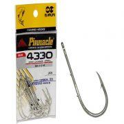 Anzol Pinnacle 4330 - Nº 1/0 10P