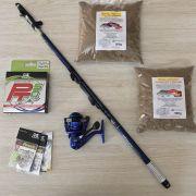 Kit para Ultralight Molinete SaintPlus Trully