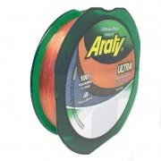 Linha Araty Ultra 300M - 0,40mm - Salmão