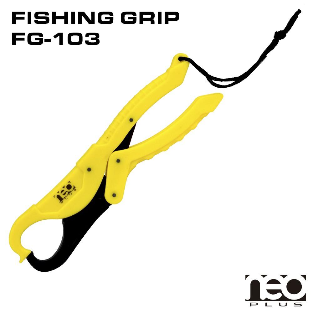 Alicate NeoPlus Amarelo  - Universo da Pesca