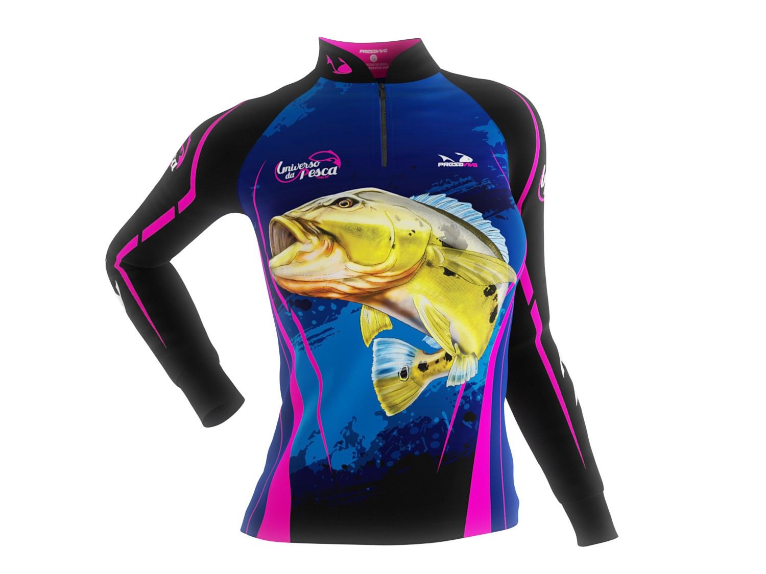 Camisa Exclusiva 02 UP - Feminina - Universo da Pesca