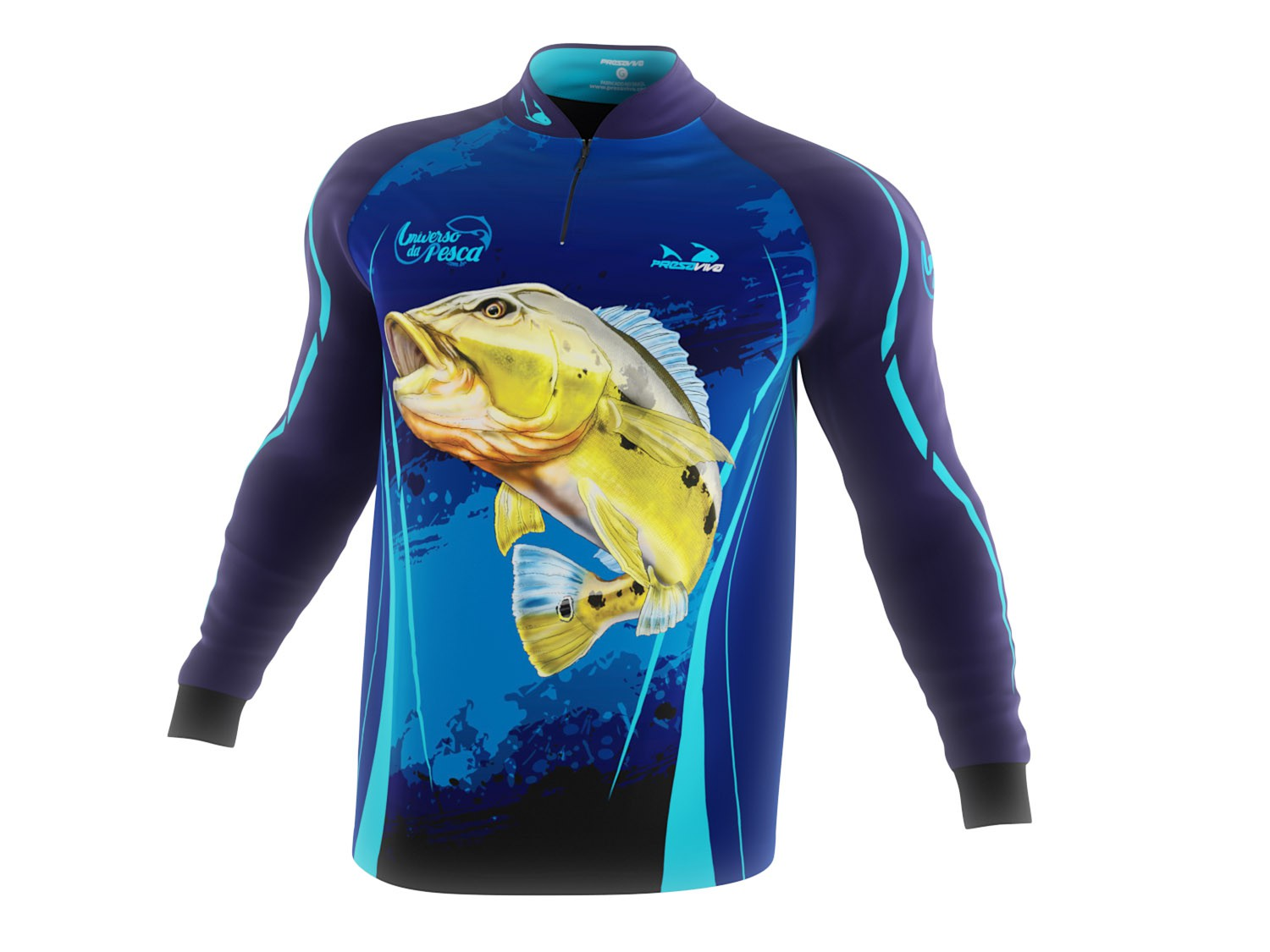 Camisa Exclusiva 02 UP - Masculina - Universo da Pesca