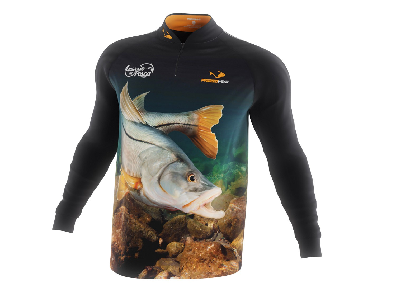Camisa Robalo - Masculina  - Universo da Pesca