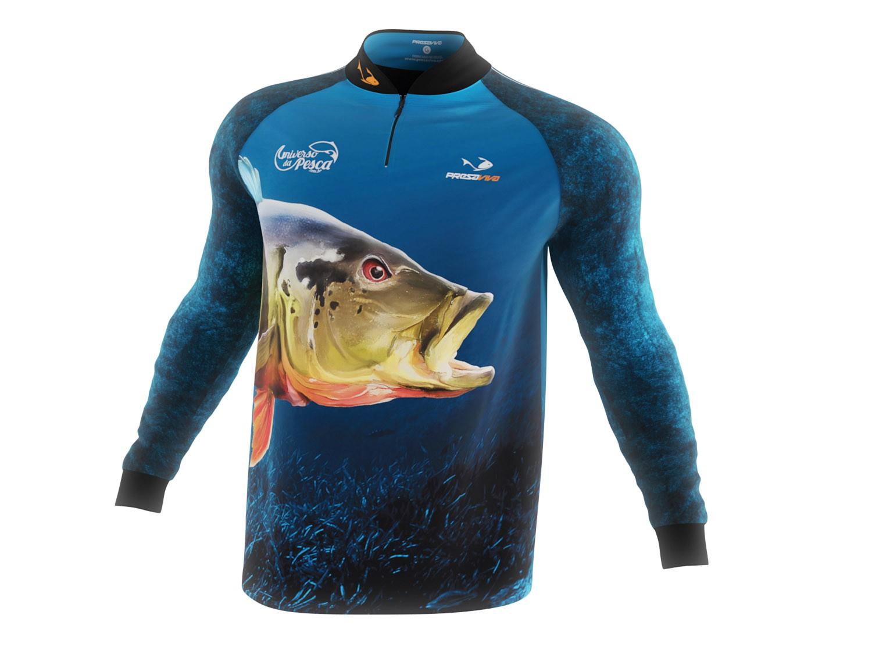 Camisa Tucunaré Açu - Masculina  - Universo da Pesca