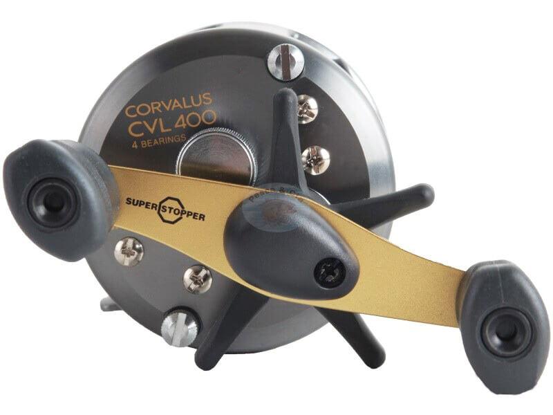 Carretilha Shimano Corvalus 400/401  - Universo da Pesca