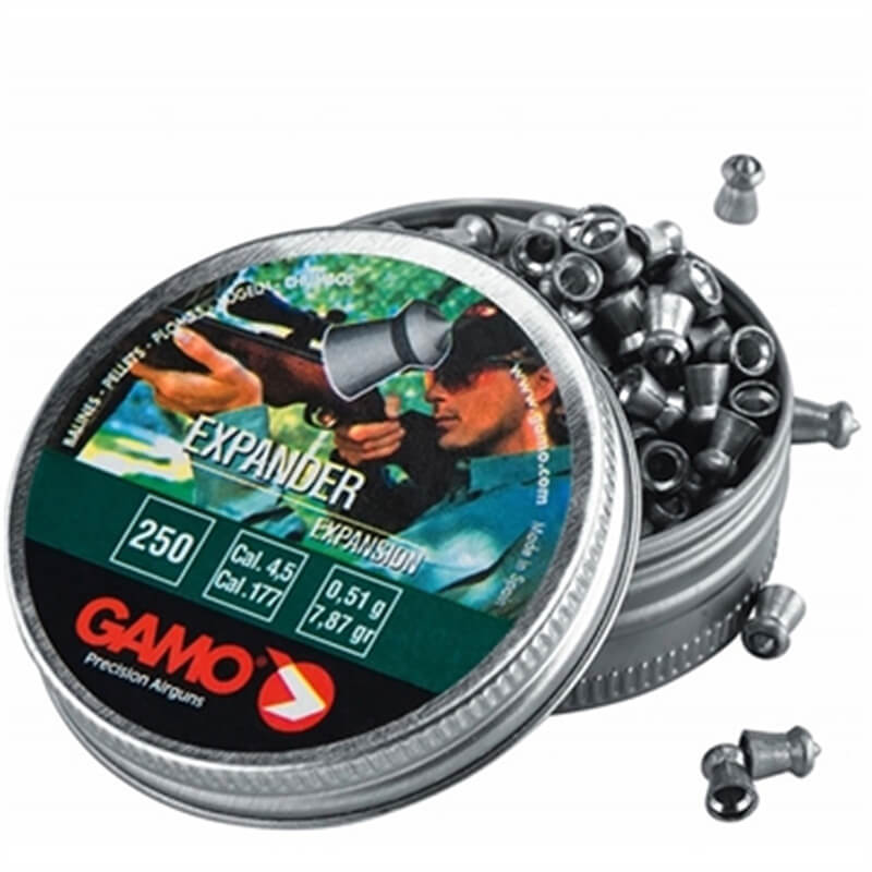CHUMBINHO GAMO EXPANDER 4,5MM C/250UN.  - Universo da Pesca
