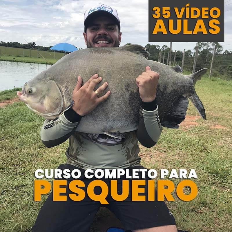 Curso para pescadores de Pesqueiro  - Universo da Pesca