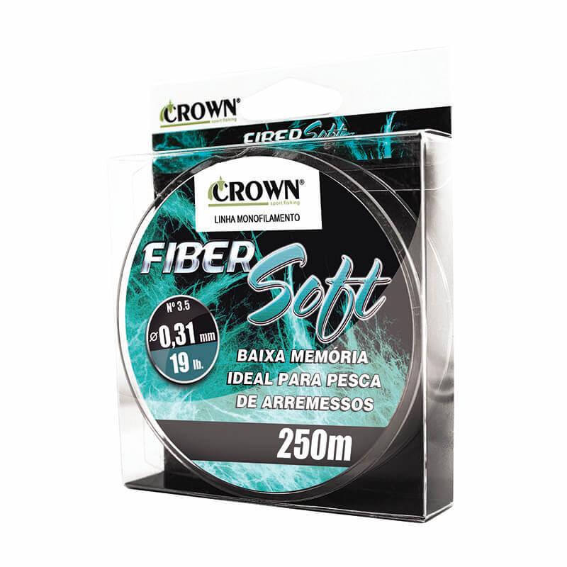 Linha Fiber Soft Green - 250M - 0,40mm - 32lbs  - Universo da Pesca