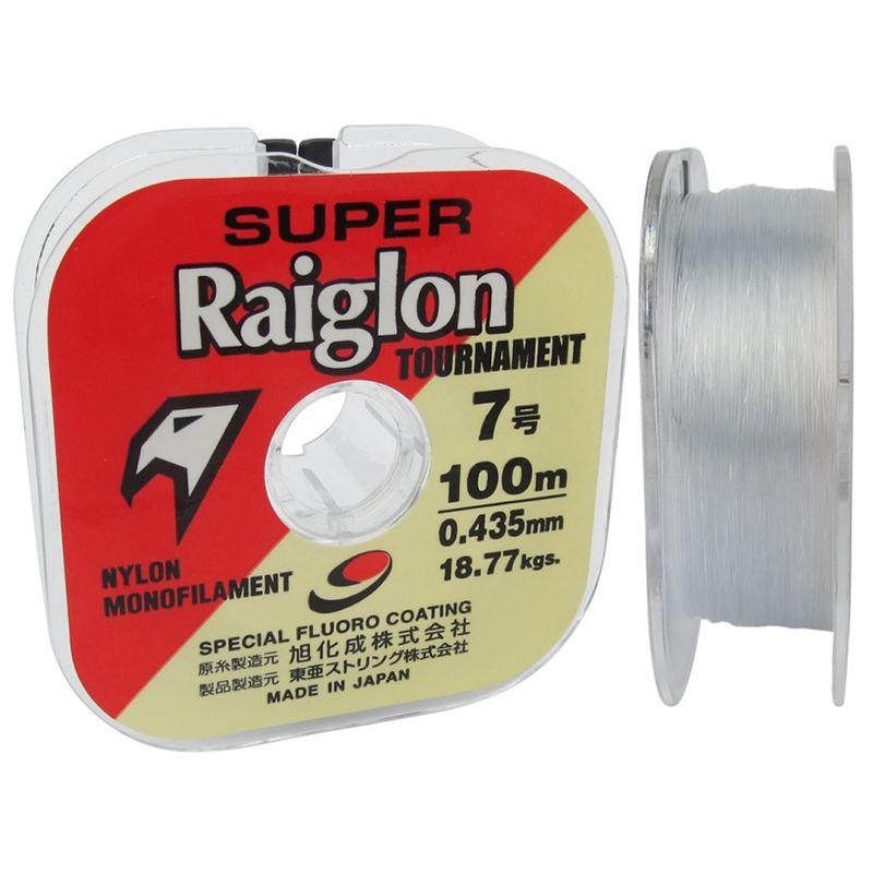 Linha MarineSports Super Raiglon 100M - 0,40 - 36lb  - Universo da Pesca