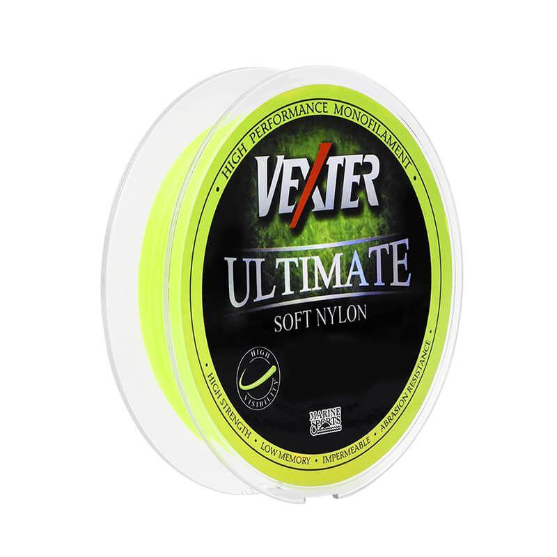 Linha MarineSports Vexter Soft Amarela 300M - 0,40mm -  - Universo da Pesca