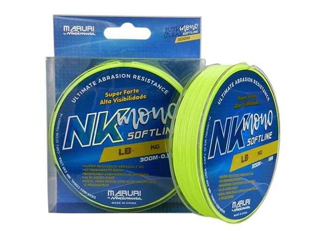 Linha Maruri NK Soft 0,37mm - 300m  - Universo da Pesca
