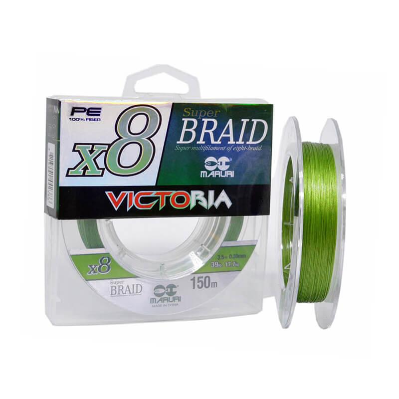 Linha Maruri Victoria 8x - 150m  - 0.45mm  - Universo da Pesca