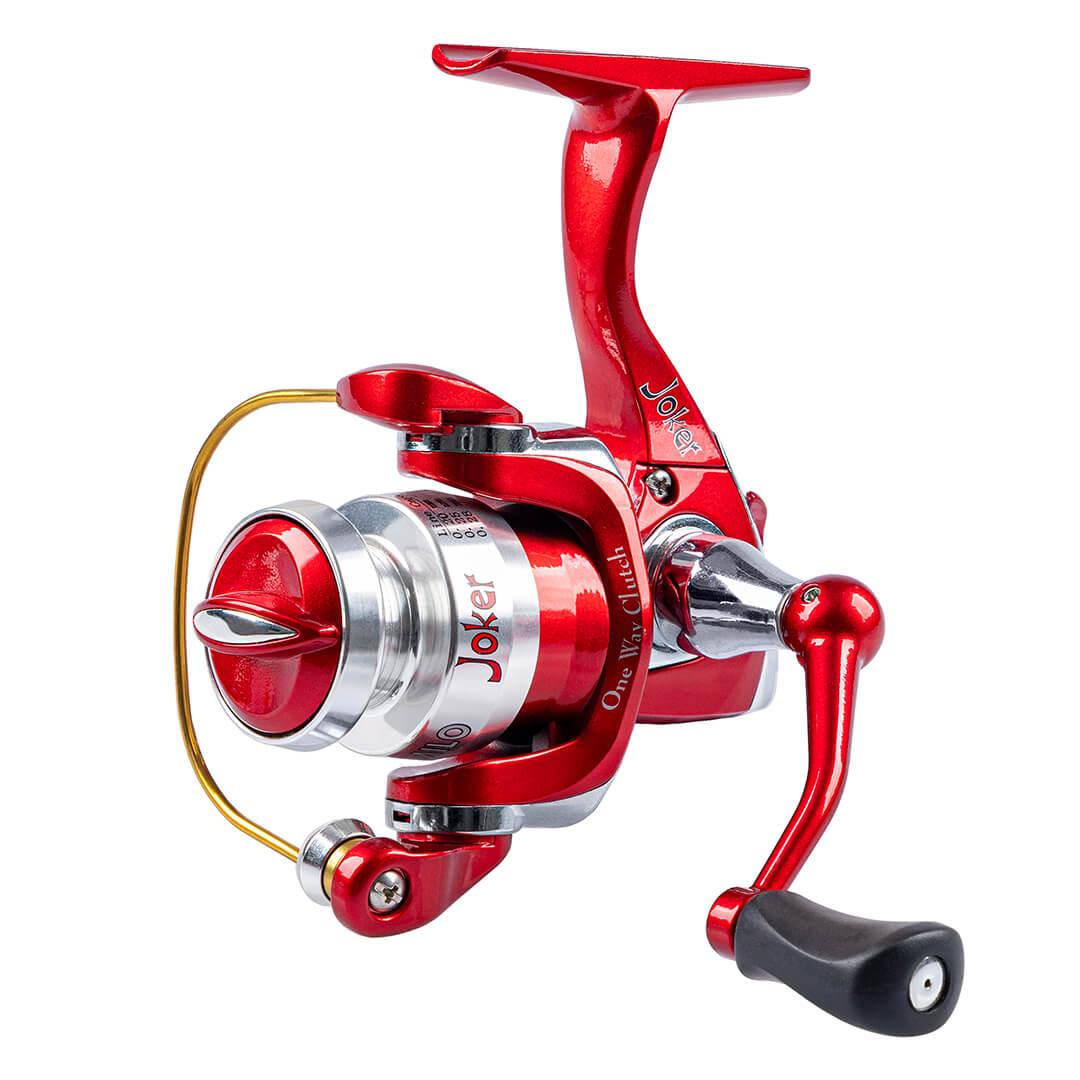 MOLINETE MARURI JOKER 400 NEW RED  - Universo da Pesca