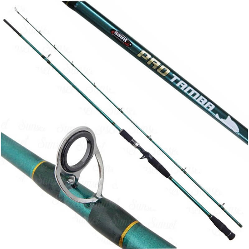 Vara Carretilha Pro Tamba 2,70m - Saint Plus - 25-50lbs  - Universo da Pesca