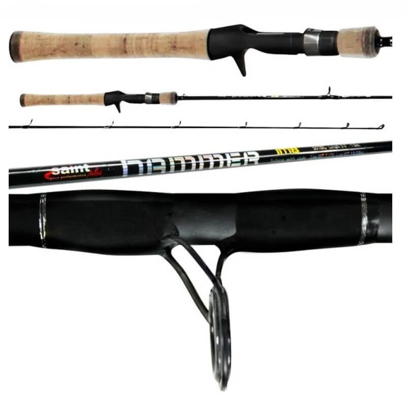 Vara Hammer - 1,65m - 7-17lbs  - Universo da Pesca