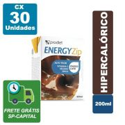 EnergyZip 200ml Chocolate Cx 30 Unidades - Prodiet