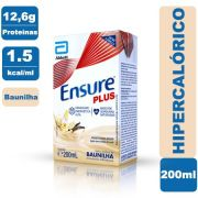 Ensure Plus Baunilha 200ml - Abbott