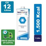 Isosource 1.5 1000ml Cx 12 Litros - Nestlé