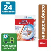 Nutri Enteral 1.5 Chocolate 200ml Cx 24 Unidades - Nutrimed