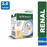 Nutri Renal D 2.0 Kcal Baunilha 200ml - Nutrimed