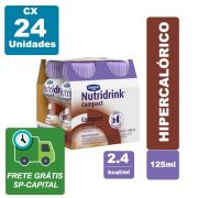 Nutridrink Compact Chocolate 125ml Cx 24 unidades - Danone