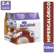 Nutridrink Compact Chocolate 4 x 125ml - Danone
