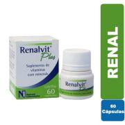 Renalvit Plus 60 comprimidos - Nutrovit