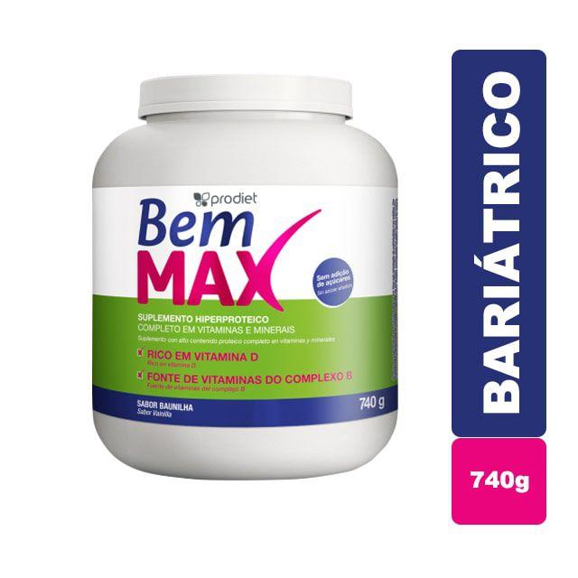 Bem Max Bariátrico 740g - Prodiet