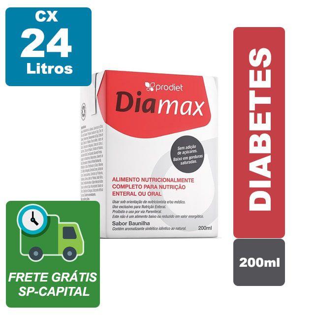 Diamax Baunilha 200ml Cx 24 Unidades - Prodiet