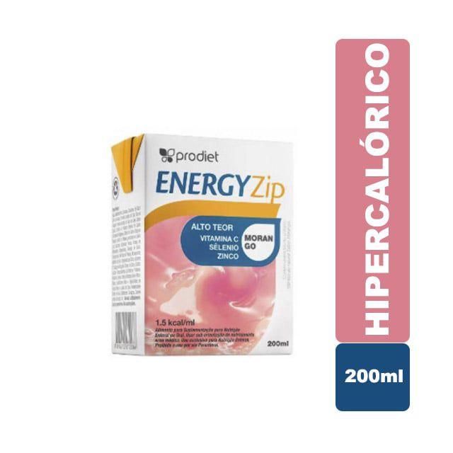 EnergyZip 200ml Morango - Prodiet