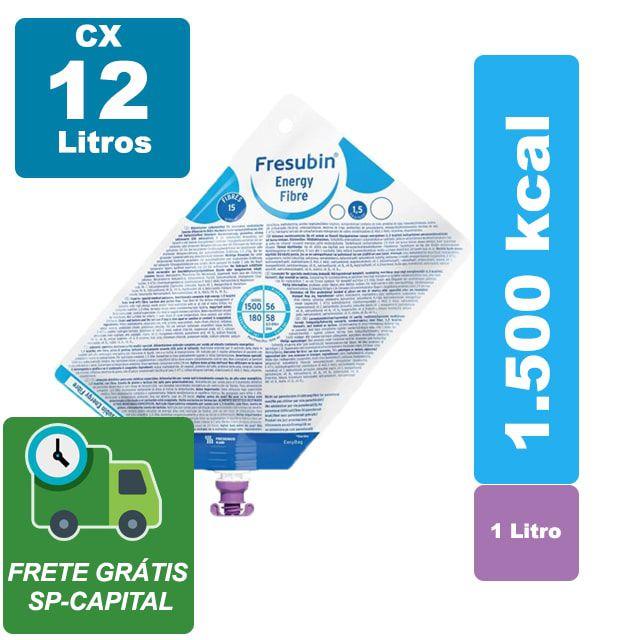 Fresubin Energy Fibre 1000 ml Cx 12 Litros - Fresenius