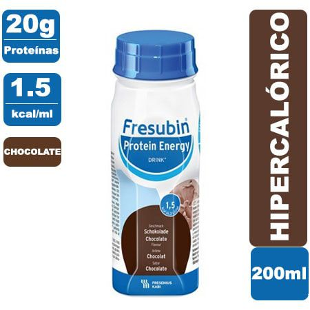 Fresubin Protein Energy Drink Chocolate 200ml - Fresenius