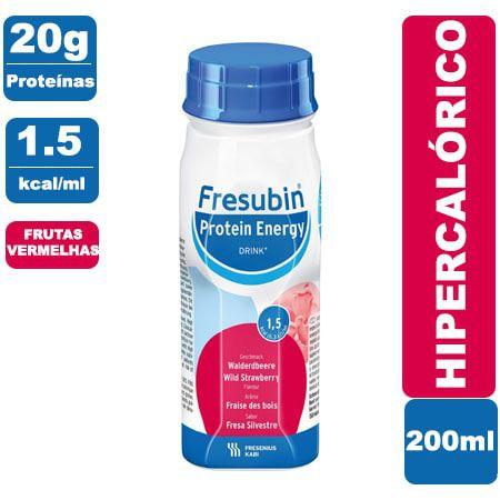 Fresubin Protein Energy Drink Frutas Vermelhas 200ml - Fresenius