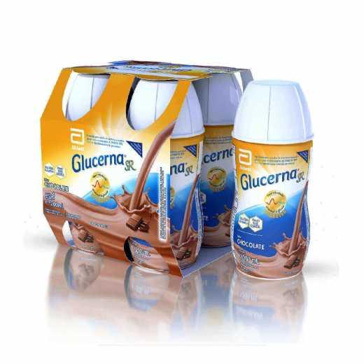 Glucerna SR Chocolate 200ml c/ 4 unidades - Abbott