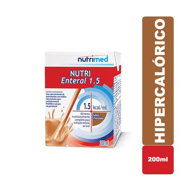 Nutri Enteral 1.5 Chocolate 200ml - Nutrimed