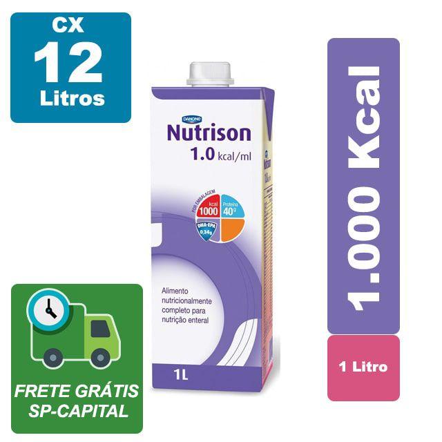 Nutrison 1000ml Cx 12 Litros - Danone