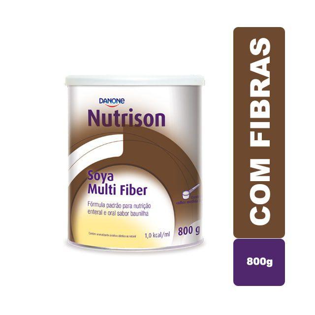 Nutrison Soya Multi Fiber Baunilha 800g - Danone