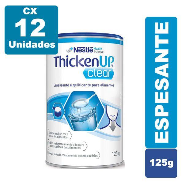 Resource Thicken Up Clear 125g Cx 12 Unidades - Nestlé