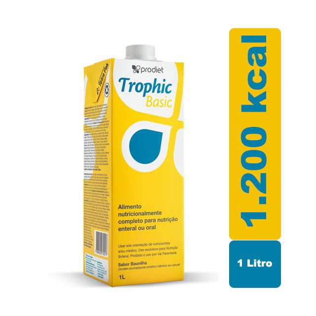 Trophic Basic Baunilha 1000ml - Prodiet