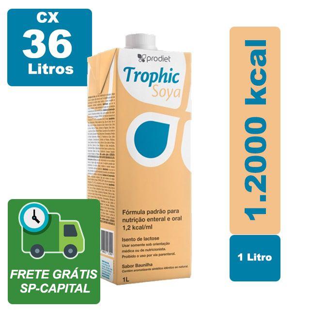 Trophic Soya 1000ml Cx 36 Litros - Prodiet