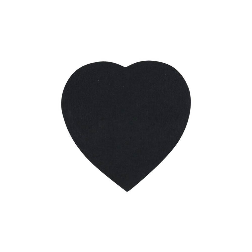 Bloco adesivo coração preto - Eagle