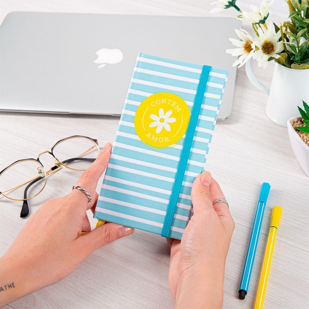 Bloco de anotações - Fun colors