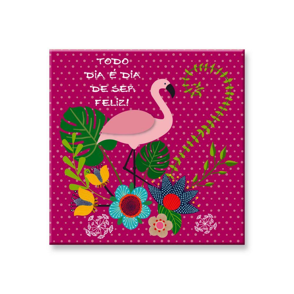 Bloco de mesa flamingo